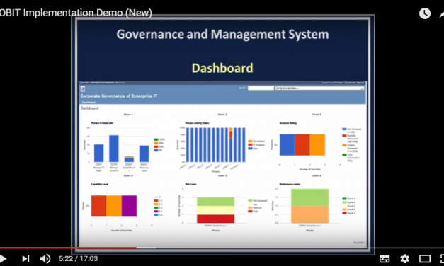 ITGOVNET: COBIT Implementation Demo (New)